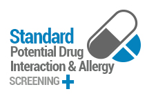 Screening for Potential Drug Interactions and Allergies Between Your Prescriptions